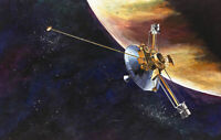 """high quality oil painting handpainted on canvas """"Pioneer 10  """""""