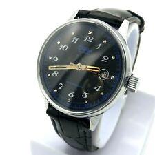 SLAVA Purple Black Dial Rare Vintage Watch USSR Men's GIFT Retro Casual PERFECT