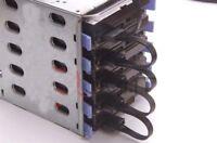 4 Pin IDE Molex 1 To 5 15Pin SATA Splitter Hard Drive Power Cable Cord 18AWG Bla