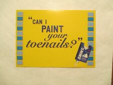 Smint Instant Freshness Advertising Postcard Continental size