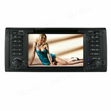 DAB+Car stereo for BMW 5 Series E39 E53 X5 M5 Android 9.0 Sat Nav GPS WIFI 4G CD