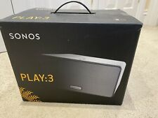 Sonos Play 3 Wireless Speaker - White - Boxed, Cables Immaculate