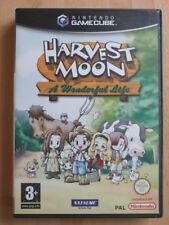 Harvest Moon: A Wonderful Life - Nintendo GameCube, UK/PAL, complete