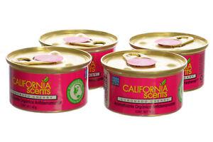 California Scents Spillproof Organic Canister Air Fresheners Coronado Cherry-4PK