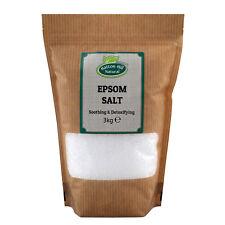 Epsom Salt   Magnesium Sulphate   BP Grade   Bath Health Garden Beauty   3kg