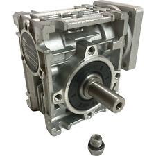 Hmrv 030 Speed Reducer Ratio 801 Worm Gear Gearbox For Nema23 Stepperservo