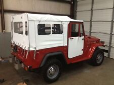7 Window PVC Soft Top - FJ40 or BJ42 Toyota Land Cruiser