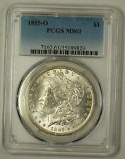 1885-O US Morgan Silver Dollar Coin $1 PCGS MS-61 (B) (18)
