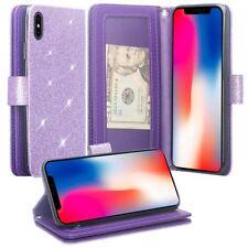 For Apple iPhone Xr Cute Wallet Phone Case Cover Kickstand Girls Women