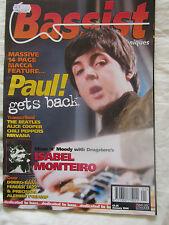 BASSIST BASS TECHNIQUES MAGAZINE  Paul Mcartney 1996 Alice Cooper,Nirvana