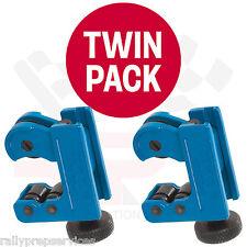 TWIN Pack condotta DEL FRENO & Tubo Cutter per 3 - 22mm tubo di rame Kunifer & Tubo Del Freno