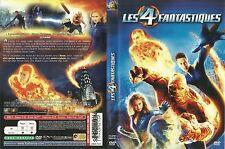 UNIQUEMENT LA JAQUETTE POUR DVD : LES 4 FANTASTIQUES avec JESSICA ALBA
