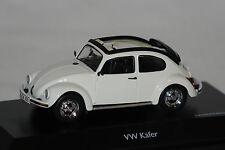 """VW Käfer 1600 """"Open Air"""" weiß 1:43 Schuco neu & OVP 3879"""
