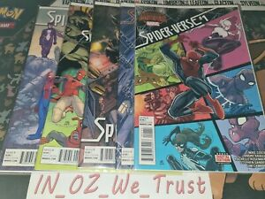 Secret Wars - Spider-Verse #1-5 (Marvel Comics, 2015, Complete Set, Warzones)