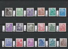 DDR 1953 MiNr 362-379 **, Fünfjahrplan (I), alle tiefstgeprüft, KW 200 €