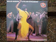 MILLIE JACKSON -LIVE AND OUTRAGEOUS RATED XXX–VINYL LP SPRING 2391 540