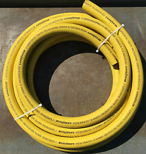 "1"" Ortac Heavy Duty Hose - 25' Roll - 1000 PSI – Fire Resistant"