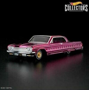 2021 RLC Rose'n One HWC Special Edition '64 Impala Lowrider IN HAND SHIPS NOW
