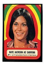 Topps 1978 Charlie's Angels Series 4 Sticker Card #37 Kate Jackson As Sabrina