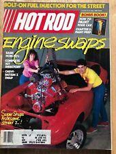Hot Rod Magazine MAY 1985 WINTERNATIONALS ENGINE SWAP IROC CAMARO SERIES