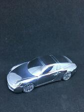 Porsche 911 targa  Limited Edition Chrome Aluminium Modell 1: 43