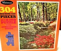 VTG Whitman Guild Floral Beauty 304 Piece Picture Puzzle