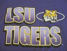 L.S.U. TIGERS FOOTBALL MEN'S NEW .MEDIUM  TEE SHIRT -NEW