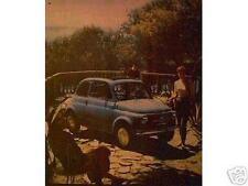 Altes Blechschild Oldtimer Italien Fiat 500 PKW Werbung Reklame gebraucht used