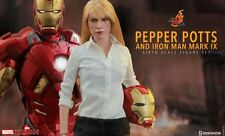 HOT TOYS MMS311 PEPPER POTS + MARK 9 SET 1/6