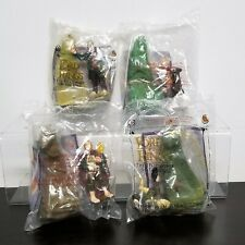 Burger King Lot 4 Lord of the Rings Toys Hobbits Sam Bilbo Pippin Merry Sealed