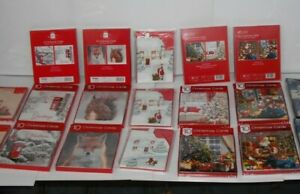PACK OF 10 BOXED CHRISTMAS CARDS VARIOUS DESIGNS  EACH MULTI-BUY OFFER
