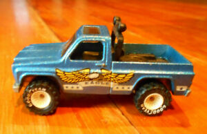 Vintage 1977 Hot Wheels Real Riders Bywayman Eagle Chevy Truck Hot Wheels