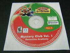 JumpStart 2nd Grade Mystery Club Vol 1 Detective Academy (PC, 2006) Disc 3 Only
