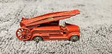 Original Vintage Matchbox Lesney England Grey Wheel # 9 Dennis Fire Truck