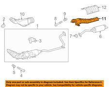 TOYOTA OEM 12-17 Prius V 1.8L-L4 Exhaust-Heat Shield 5815347040