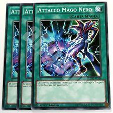 Yugioh LDK2-ITY28 3x ATTACCO MAGO NERO (DARK MAGIC ATTACK) Comune