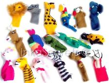 2000 Hand-Knitted Finger Puppets