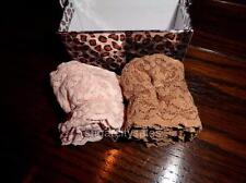 NWT 2 PAIR BOXED HANKY PANKY LOW RISE STRETCH LACE THONG PANTIES 4911 OS 1 sz