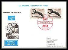Gp Goldpath: Austria Cover 1964 Air Mail _Cv311_P18