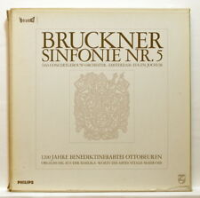EUGEN JOCHUM - BRUCKNER symphony no.5 PHILIPS Hi-Fi Stereo 2xLPs box