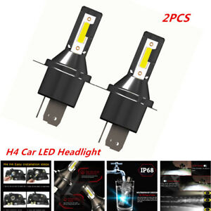 2X H4 Car LED Headlight 26000LM 6000K 110W Kit Conversion Bright Bulb Functional