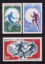 Timbres du Gabon, sur football