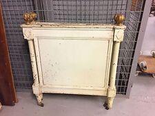 Bois de lit peint époque Louis XVI Directoire XVIIIe siècle