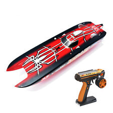 DT G30E Hell Cat Fiber Glass Spider 70Km/h 30CC Engine Gas RC ARTR Racing Boat