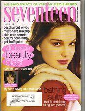 NATALIE PORTMAN Seventeen Magazine 6/00 ASHTON KUTCHER HANSON
