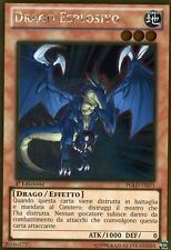 YU-GI-OH! PGLD-IT071 Drago Esplosivo Rara Gold Italiano