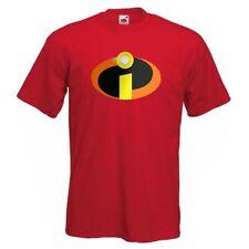 INCREDIBLES Mens T Shirt Super Heroes Fancy Dress Childrens Hoodie