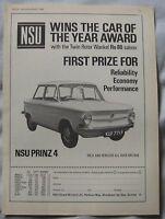 1968 NSU Prinz 4 Original advert