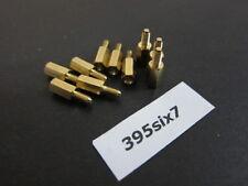 10x Brass Standoff Spacer M3 Male x M3 Female - 10mm