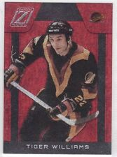 TIGER WILLIAMS VANCOUVER CANUCKS 2010-11 ZENITH RED HOT #127